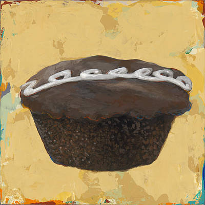 Birthday Painting - Cupcake #2 by David Palmer