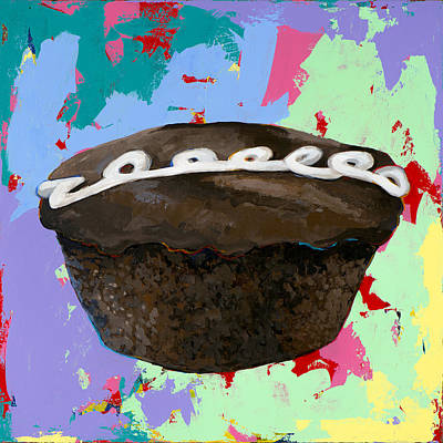 Painting - Cupcake #3 by David Palmer