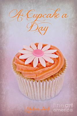 Frosted Cupcakes Digital Art - Cupcake Day by Clare Bevan