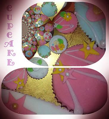 Pretty Cupcakes Digital Art - Cupcake N Icing by Jan Steadman-Jackson