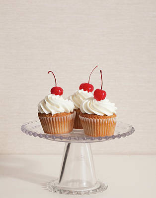 Cupcakes Art Print by Photograph By Eric Isaac
