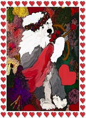 Mixed Media - Cupid by Cathy Howard