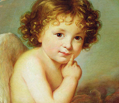 Cupid Art Print by Elisabeth Louise Vigee-Lebrun