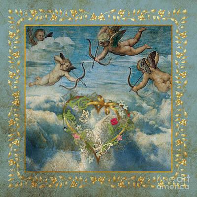 Cupid Art Print by Jolanta Meskauskiene
