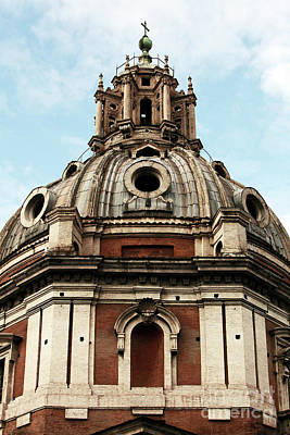 Photograph - Cupola In Roma by John Rizzuto