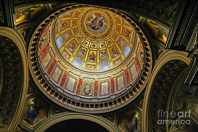 Photograph - Cupola Of St Stephen's by Elvis Vaughn