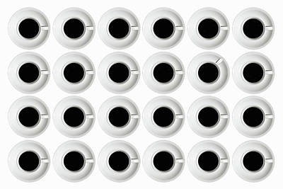 Repetition Photograph - Cups by Stefan Eisele