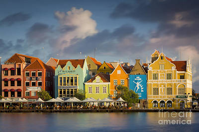 Mountain Landscape Rights Managed Images - Curacao Evening Royalty-Free Image by Brian Jannsen