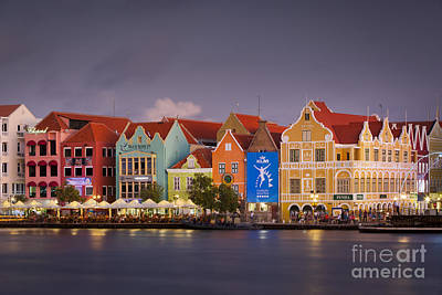 Photograph - Curacao Water Front by Brian Jannsen