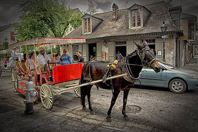 Photograph - Curb Service At Lafittes Blacksmith Shop Bar Nola Dsc05931 by Greg Kluempers