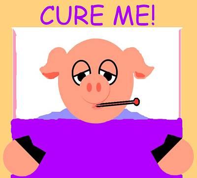 Cure Me Art Print by Pharris Art