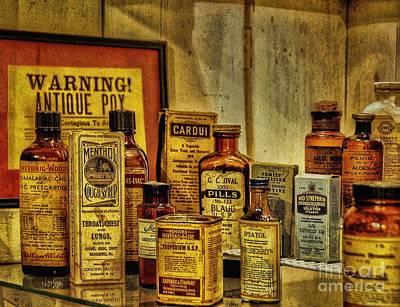 Cough Syrups Photograph - Cure Ya Or Kill Ya by Lois Bryan