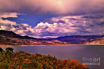 Blue Mesa Reservoir Photograph - Curecanti Autumn Blue Mesa Colorado by Janice Rae Pariza