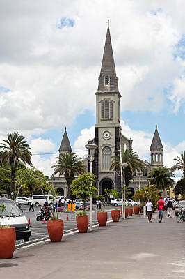 Christian Sacred Photograph - Curepipe by Tom Gowanlock