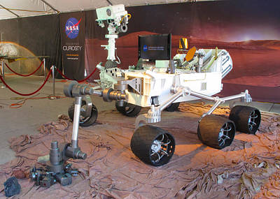 Photograph - Nasa's Curiosity Rover - Mars Science Laboratory by Ram Vasudev