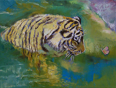 Curiosity Painting - Curiosity by Michael Creese