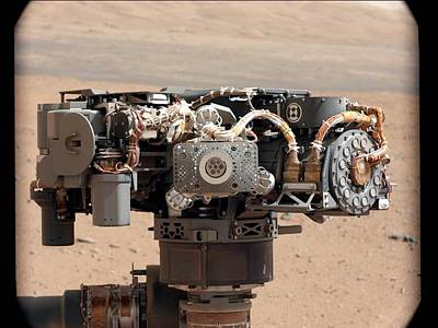 Curiosity Rover's Robotic Arm, Mars Art Print by Science Photo Library