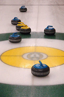 Photograph - Curling Arrangement. by Rob Huntley