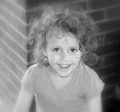 Photograph - Curly by Deborah  Crew-Johnson
