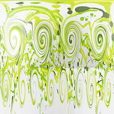 Painting - Curly Greens by Alli Cullimore