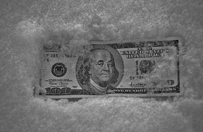 Photograph - Currency Freeze by Robert Geary