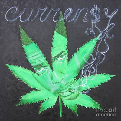 504 Painting - Currensy by Jeepee Aero