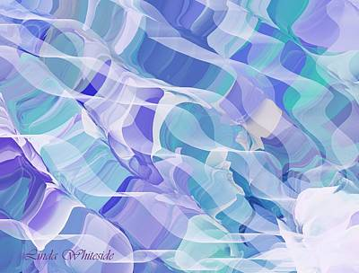Digital Art - Currents by Linda Whiteside