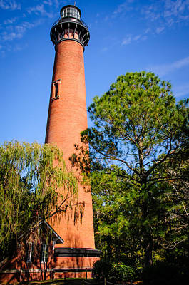 Photograph - Currituck Beach Light Station by Penny Lisowski