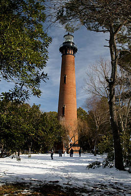 Photograph - Currituck Beach Lighthouse Corolla Nc Color Img 3772 by Greg Kluempers