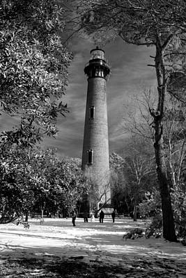 Photograph - Currituck Beach Lighthouse Corolla Nc Im 3772 by Greg Kluempers