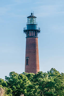 Photograph - Currituck Beach Lighthouse On The Outer Banks Of North Carolina by Alex Grichenko