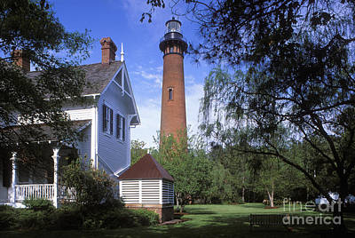 Photograph - Currituck Lighthouse - Fs000614 by Daniel Dempster