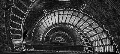 Currituck Lighthouse Stairs Art Print