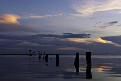 Currituck Sound Sunset Art Print