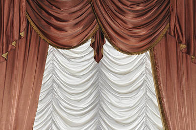 Curtain Art Print by Matthias Hauser