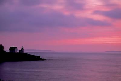 Photograph - Curtis Island Headlight 01 by Jim Dollar