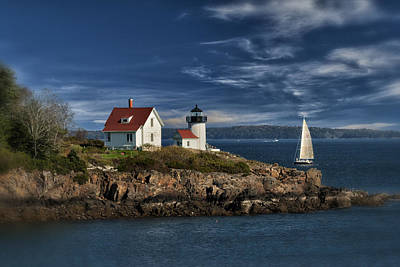 Curtis Island Lighthouse Maine Img 5988 Art Print