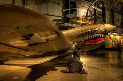 Curtiss P-40 Warhawk Art Print