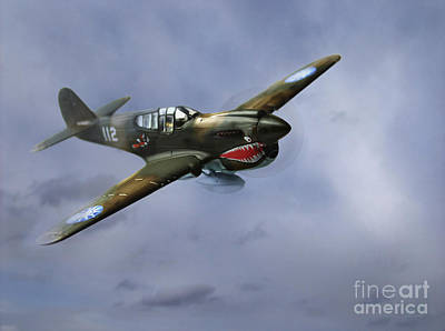 Curtiss P-40 Warhawk Art Print