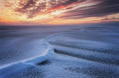 Winter Sunset Wall Art - Photograph - Curve by Andrei Reinol