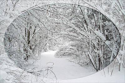 Photograph - Curve In The Trail by Georgia Hamlin