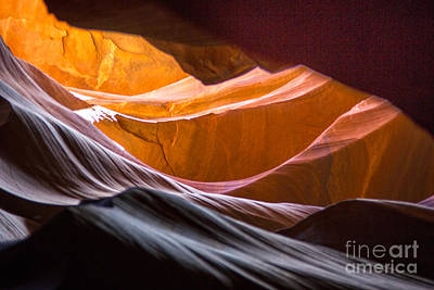 Photograph - Curved Light by Rick Bragan