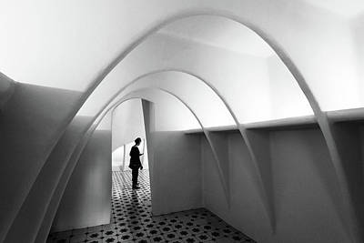 Arch Photograph - Curved Line by Olavo Azevedo