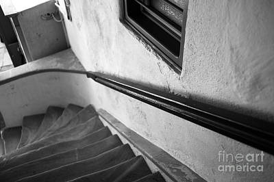 Photograph - Curves At The Bottom Mono by John Rizzuto