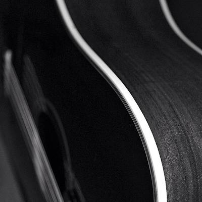 String Instrument Photograph - Curves by Justin Connor