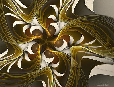 Digital Art - Curves by Linda Whiteside