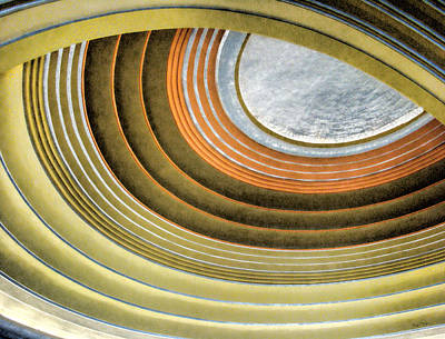 Curving Ceiling Art Print