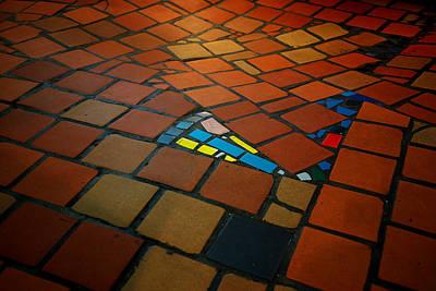 Curvy Floor Art Print by Ivan Slosar