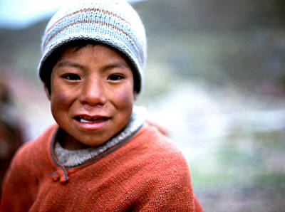 Photograph - Cusco Mountain Boy by Robert  Rodvik
