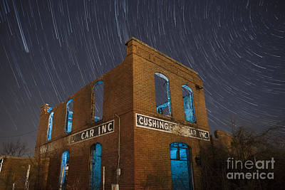 Photograph - Cushing Auto Service by Keith Kapple